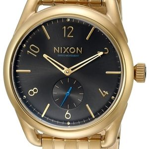 Nixon CS39 SS Gold Watch BRAND NEW
